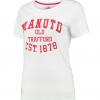 เสื้อแมนเชสเตอร์ ยูไนเต็ดของแท้ สำหรับสุภาพสตรี Manchester United Est.1878 T-Shirt - Winter White - Womens