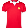 เสื้อแมนยูเชสเตอร์ ยูไนเต็ดย้อนยุค 1973 Retro No 7 Home Shirt - Short Sleeved ของแท้ 100%