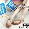 530) รองเท้าสุขภาพสไตล์ Flipflop ลายเพชร งานขายดีมากๆค่ะ