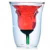 แก้วน้ำแฟนซี ดอกกุหลาบฟรุ้งฟริ้ง