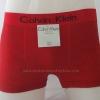 กางเกงในชาย Calvin Klein Boxer Briefs : สีแดง ลายทางดำ