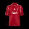 เสื้อย้อนยุคลิเวอร์พูล 2001 ยูฟ่าคัพ รอบสุดท้าย ของแท้ 100% Liverpool fc Mens 2001 Dortmund Shirt