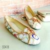 436) รองเท้า Bellet' คัชชูลายโค้ชน่ารัก