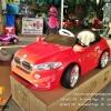 AB3202R รถแบตเตอรี่เด็กนั่งไฟฟ้า ยี่ห้อ BMW ประตูปีกนก สีแดง