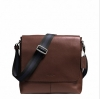 กระเป๋าผู้ชาย COACH รุ่น SULLIVAN SMALL MESSENGER IN SMOOTH LEATHER F72362 : MAHOGANY