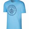 เสื้อทีเชิ้ตแมนเชสเตอร์ ซิตี้ สีฟ้าของแท้