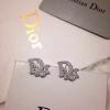 CP693583 ต่างหู Christian Dior งานเพชร