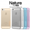 Nillkin Nature Slim Clear TPU Case Cover for Apple iPhone 5/5s/SE