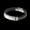 สร้อยข้อมือลิเวอร์พูล ของแท้ 100% Liverpool FC Twisted Rope Stainless Steel Rubber Bracelet