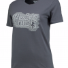เสื้อทีเชิ้ตผู้หญิงแมนเชสเตอร์ ยูไนเต็ด ปัก Manchester United สีเทา