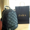 Zara Quilted Backpack 2016