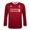 เสื้อลิเวอร์พูลทีมเหย้า 2017-2018 แขนยาวของแท้ Liverpool Mens Replica Home L/S Shirt 2017 2018