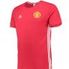 เสื้ออดิดาสแมนเชสเตอร์ ยูไนเต็ด คอร์ทีเชิ้ตสีแดงของแท้