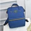 [ ลดราคา ] - กระเป๋าเป้แฟชั่น สไตล์เกาหลี สีน้ำเงิน ใบใหญ่จุของเยอะ ดีไซน์สไตล์แบรนด์สุดฮิต เหมาะกับสาว ๆ ที่ชอบกระเป๋าเป้ใบใหญ่ๆ แต่น้ำหนักเบา