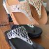745) รองเท้าสุขภาพ Style Fitflop ด้านหน้า ประดับคริสตัลเกรด A