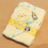 ผ้าห่อตัวเด็ก 100% Cotton Hooded Towel เนื้อผ้าขนหนู