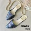 859) Flat shoe ลายทหาร