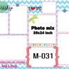 Template photo mix ขนาด 20x24 รหัส M-031
