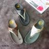 940) รองเท้าสุขภาพสไตล์ Fitflop ลาย LV ขอบทอง