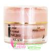 เรียวครีม Clear Crystal Night Cream ครีมหน้าขาว สำหรับผู้มีปัญหาฝ้า กระ จุดด่างดำ