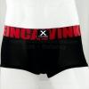 กางเกงในชาย Calvin Klein Boxer Briefs : X สีดำ ขอบแดง