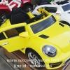 QS3150Y รถแบตเตอรี่เด็กนั่งไฟฟ้า ยี่ห้อโฟล์ค 2มอเตอร์ สีเหลือง