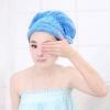 หมวกคลุมผมทำให้ผมแห้งไวใช้ขณะอาบน้ำหรือใส่ขณะแต่งหน้า ช่วยเก็บผมรวบผมอย่างดี สีฟ้า