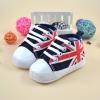 รองเท้าคัชชูเด็กอ่อน ลายธงอังกฤษ Size 11 12 13