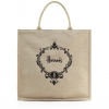 Pre-Order • UK | กระเป๋า Harrods Roundel Jute Shopper