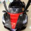 รถแบตเตอรี่เด็กนั่งไฟฟ้า รุ่น zw3133 ยี่ห้อ เฟอรารี่ปีกนก 2 มอเตอร์ เล่น usb/sd/fm ได้ มี 3 สี ดำแดง น้ำเงินขาว แดงขาว