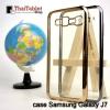 TPU ใสขอบสี เคส Samsung Galaxy J7
