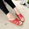 1362 งาน Flat shoe ทรงสานงานสีพาสเทล