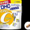 DHC Vitamin C (hard capsules) economical 90 days (vitamin C · vitamin B2) ยอดขายดีอันดับหนึ่งในญี่ปุ่น ช่วยลดความหมองคล้ำบนใบหน้า เพิ่มความชุ่มชื่นแก่ผิว