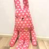 ตุ๊กตา Craft Holic ลายจุดสีชมพู ( size L 100cm)