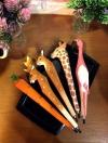 ปากกาไม้แกะสลัก Handmade