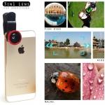 - เลนส์เสริม 3 in 1 สำหรับ มือถือ Smartphone