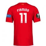 เสื้อลิเวอร์พูลยูฟ่ายูโรป้าลีกรอบรองชนะเลิศ FIRMINO 11 ฟรีอาร์ม Respect