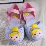 รองเท้าเด็ก หน้าเจ้า่หญิง *ฟ้า*