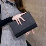 [ พร้อมส่ง ] - กระเป๋าแฟชั่น นำเข้าสไตล์เกาหลี สีดำคลาสสิค สวยโดดเด่น ดีไซน์สวยเรียบหรู ดูไฮโซทุกการใช้งาน งานหนังคุณภาพ สาวๆ ห้ามพลาดค่ะ