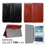 HOCO Crystal Series Retro Leather Stand Case for Samsung Galaxy Tab 4 8.0 T330