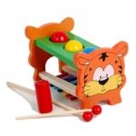 ของเล่นไม้ โต๊ะทุบลูกบอล และระนาด 2 in 1 PIANO KNOCKS PLUS TABLES