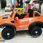 BH3197OR รถกระบะ LONG (2มอเตอร์) สีส้ม usb/sd/mp3ได้