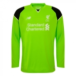 เสื้อผู้รักษาประตูลิเวอร์พูล 2016-2017 ทีมเหย้าแขยาวของแท้ Liverpool FC Mens Long Sleeve Home Goalkeeper Shirt 16/17