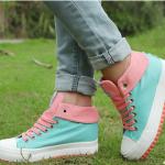รองเท้าหุ่มข้อเท้าน่ารักๆ