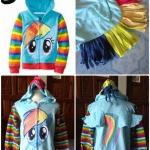 เสื้อกันหนาว Pony *ฟ้า*