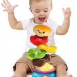 ของเล่น Bright Starts รุ่น Stack 'n Spin Burger