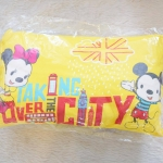 หมอนหนุนเด็ก Mickey Mouse & Minnie Mouse แบรนด์ Grace Kids ขนาดเล็ก สีเหลือง