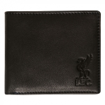 กระเป๋าสตางค์ลิเวอร์พูล Black Leather Wallet ของแท้