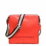 COACH รุ่น SULLIVAN SMALL MESSENGER IN SMOOTH LEATHER F71721 : ORANGE