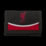 กระเป๋าสตางค์ลิเวอร์พูล Liverpool Black/Red Wallet รุ่น 3 พับของแท้ 100%